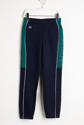 Colourblock Fleece Sweatpants