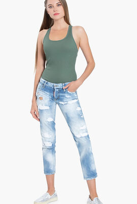 Jennifer Cropped Jeans