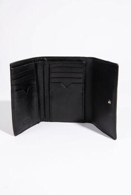 Signature Gloss Fold Wallet