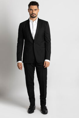Gold Single Buttoned Suit