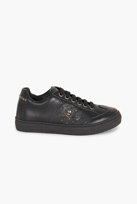 Low Top Skull and Stars Sneakers