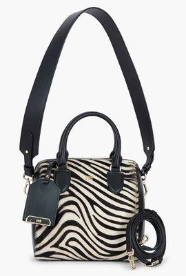 Zebra Fur Bowling Bag