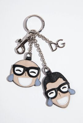 Family Patch Keychain