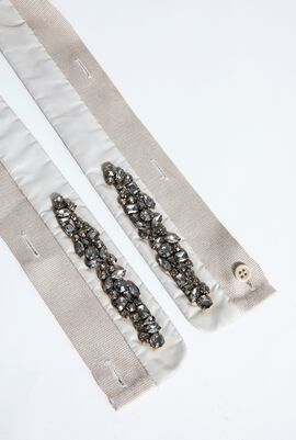 Cellula Beads Embellished Belt