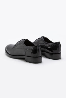 Brogue B Leather Shoes