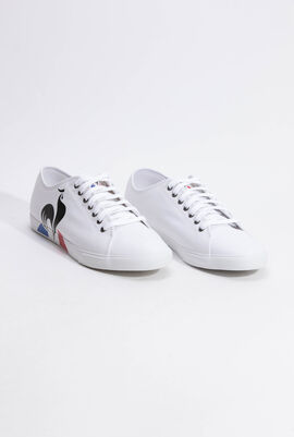 Verdon Bold Canvas Optical White Sneakers