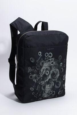 Skull Harness Nylon Backpack