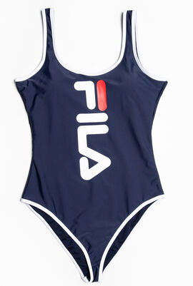 Oversized Logo Swimsuit