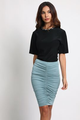 Caliga Exquisite Fitted Skirt