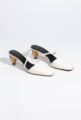 Pteros Leather Mules