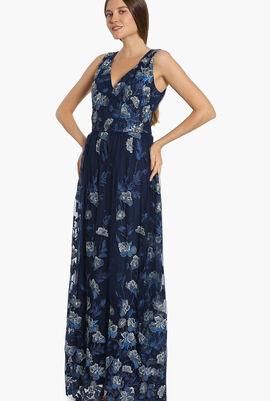 Novelty Threadwork Gown