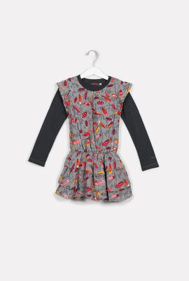 No Made Collection Tee and Drop Waist Dress Set