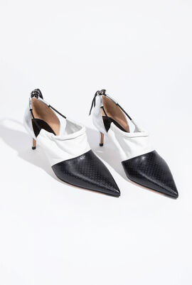 Perforated High Heel