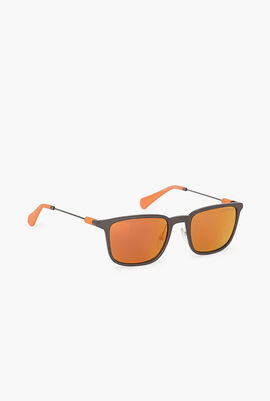 Wayfarer Mirrored Sunglasses