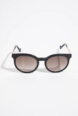 Round Full Rim Sunglasses