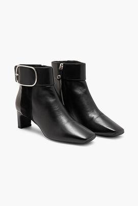 Vivyanne Leather Ankle Boots