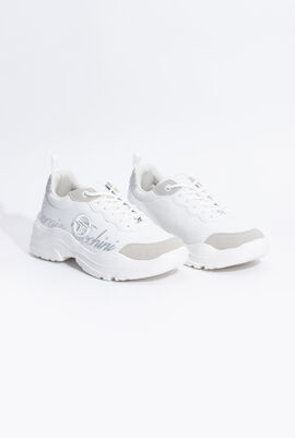 Ripple LTX White/Silver Sneakers