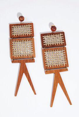 Les Chaises Earrings