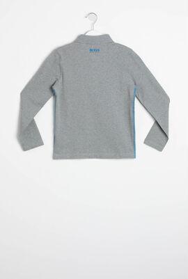 Slim Fit Long Sleeves Polo Shirt