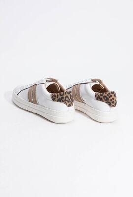 D Pontoise White Sneakers