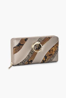 Leather Long Zip Around Wallet