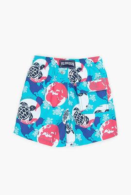 360 Mappemonde Dots Swim Shorts