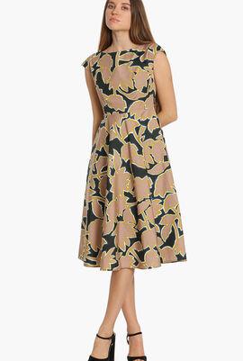 Saloon Printed Dress