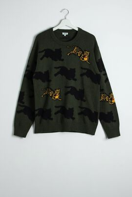 Tiger Head Sweater