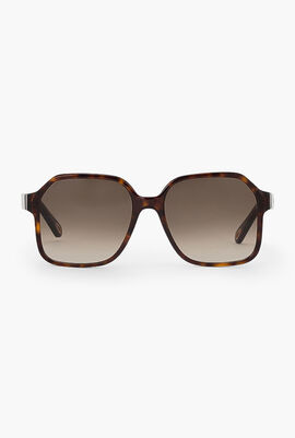 Willow Oversized Square Sunglasses