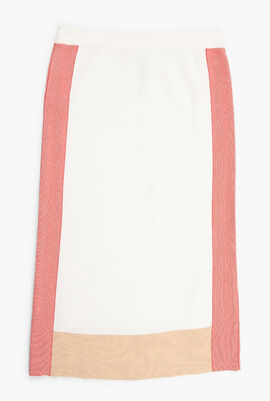 Straight Fit Long Skirt