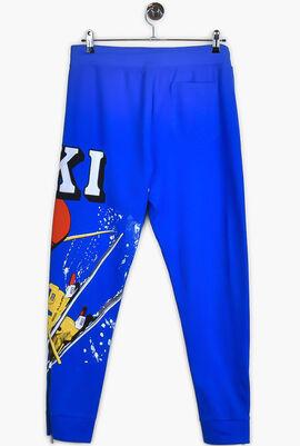 Printed Active Pants