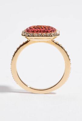 No Regrets Rectangular Ring, 52 mm