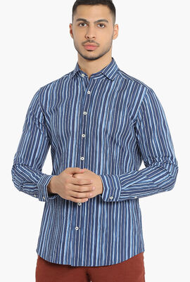 Stripe Slim Fit Shirt