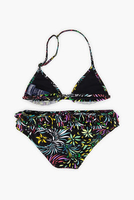 Two Pieces Evening Birds Swimsuit