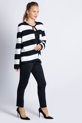 Mais Stripe Cardigan