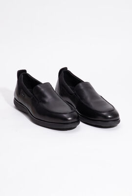 U Nebula F A Black Slip-on Shoes