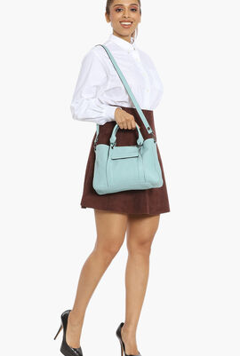 3D Medium Top Handle Bag