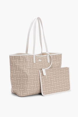 Monogramme Coated Cotton Canvas Tote Bag