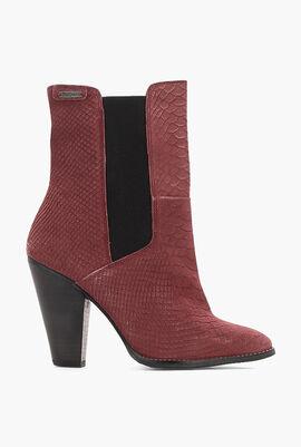 Hana Chelsea Leather Boots