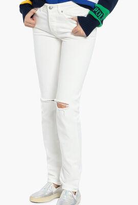 Davide Blanc Show Jeans
