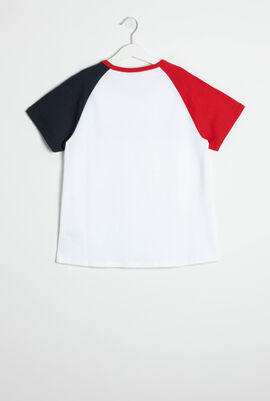 Logo Color Block T-Shirt