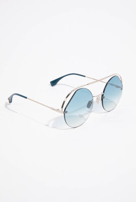 Full Rim Round Sunglasses