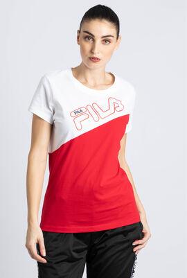 Kassy Asymmetrical Colourblock T-shirt