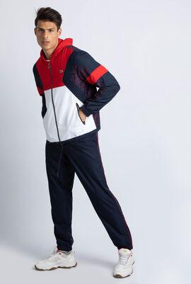 Colourblock Tennis Hooded Sweatsuit