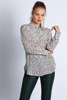 Ofelia Floral Silk Shirt