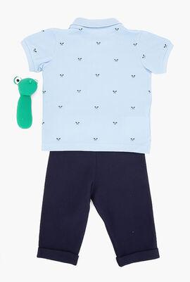 Baby Rattle And Pajama Box Set