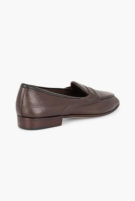 Saddle Penny Loafer Shoes