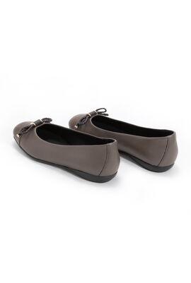 Annytah B Leather Ballet Flats