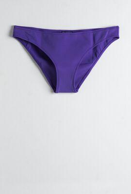 Frise Solid Bikini Bottom