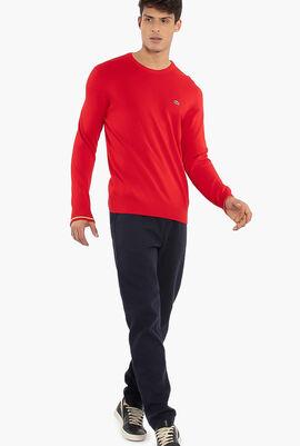HBC Solid Print Sweater